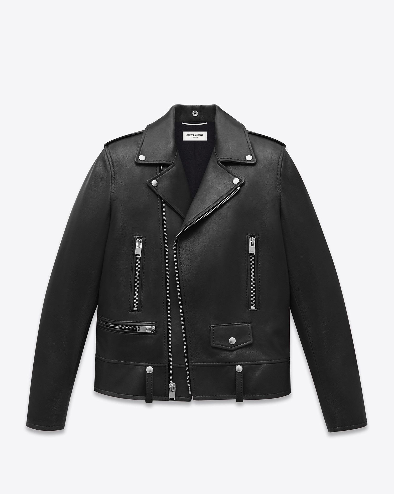 Saint Laurent Leather Jacket Discover The Selection And Shop