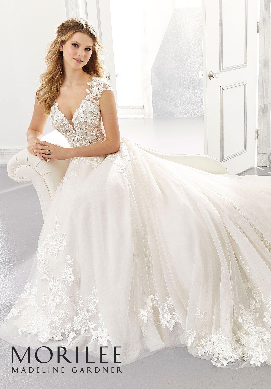 Agatha Wedding Dress Morilee A Line Wedding Dress Wedding Dresses Photos Wedding Dresses [ 2630 x 1834 Pixel ]