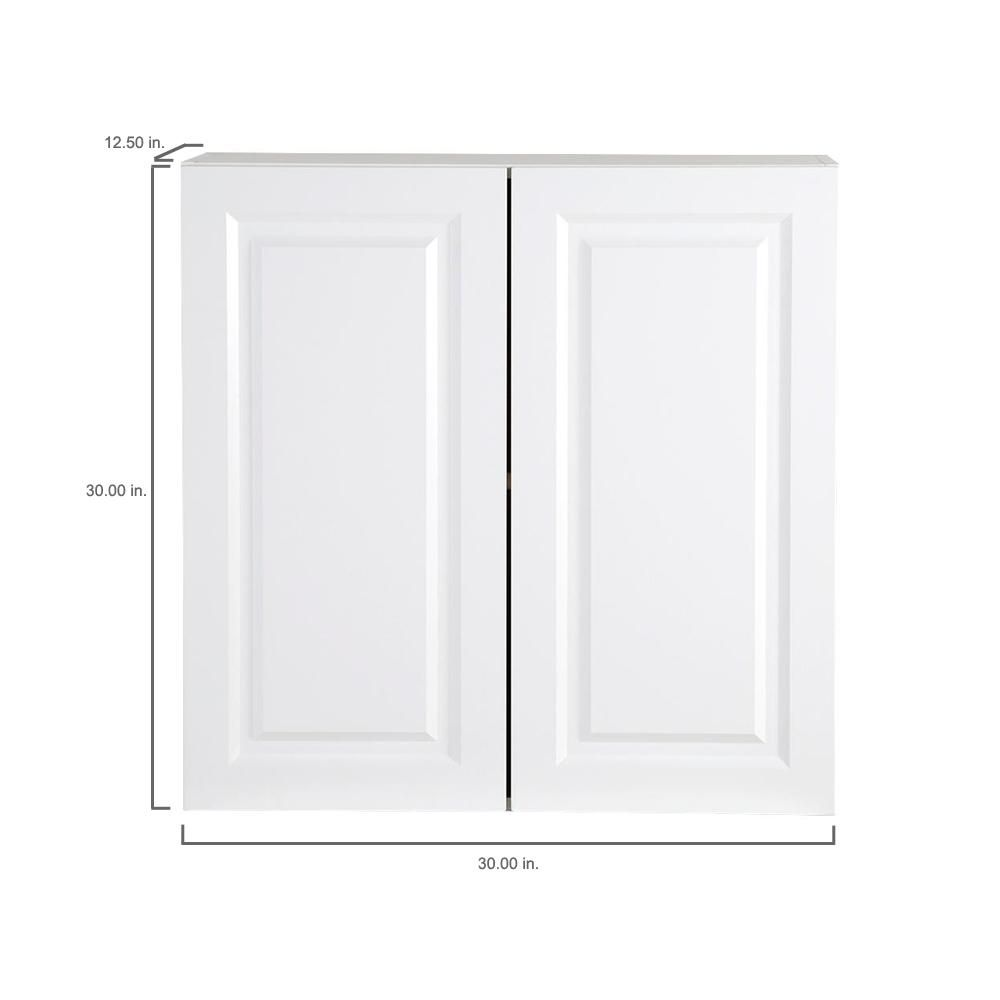 Best Hampton Bay Benton Assembled 30X30X12 In Wall Cabinet In 400 x 300
