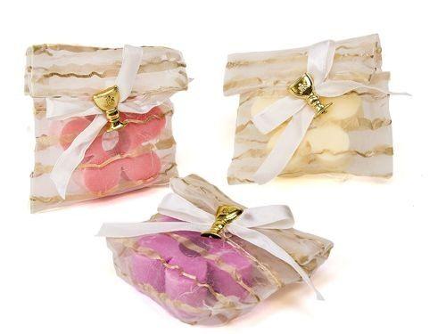 Jabón flor en bolsita