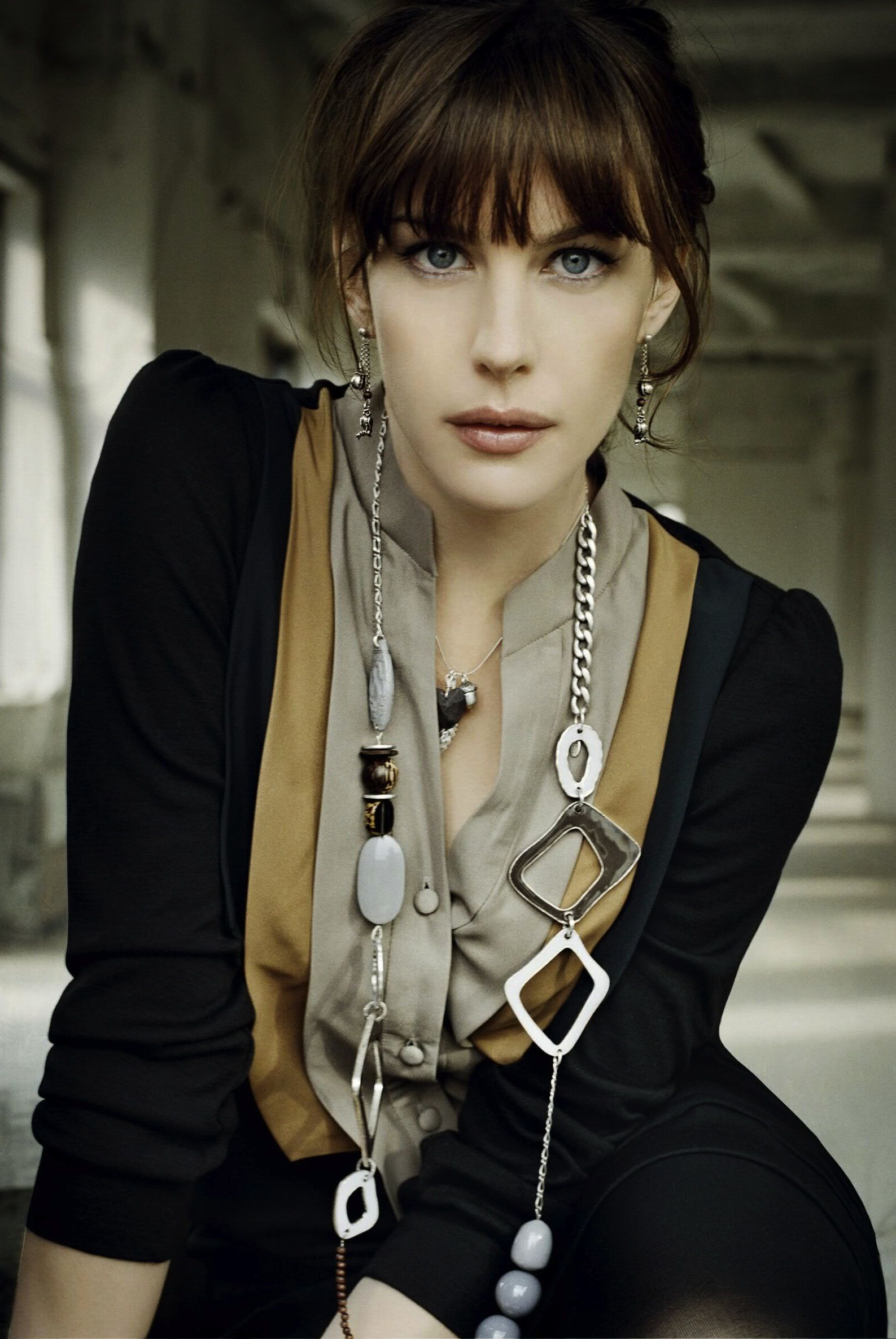 Liv Tyler By Signe Vilstrup For Pilgrim Autumn 2007 Liv Tyler