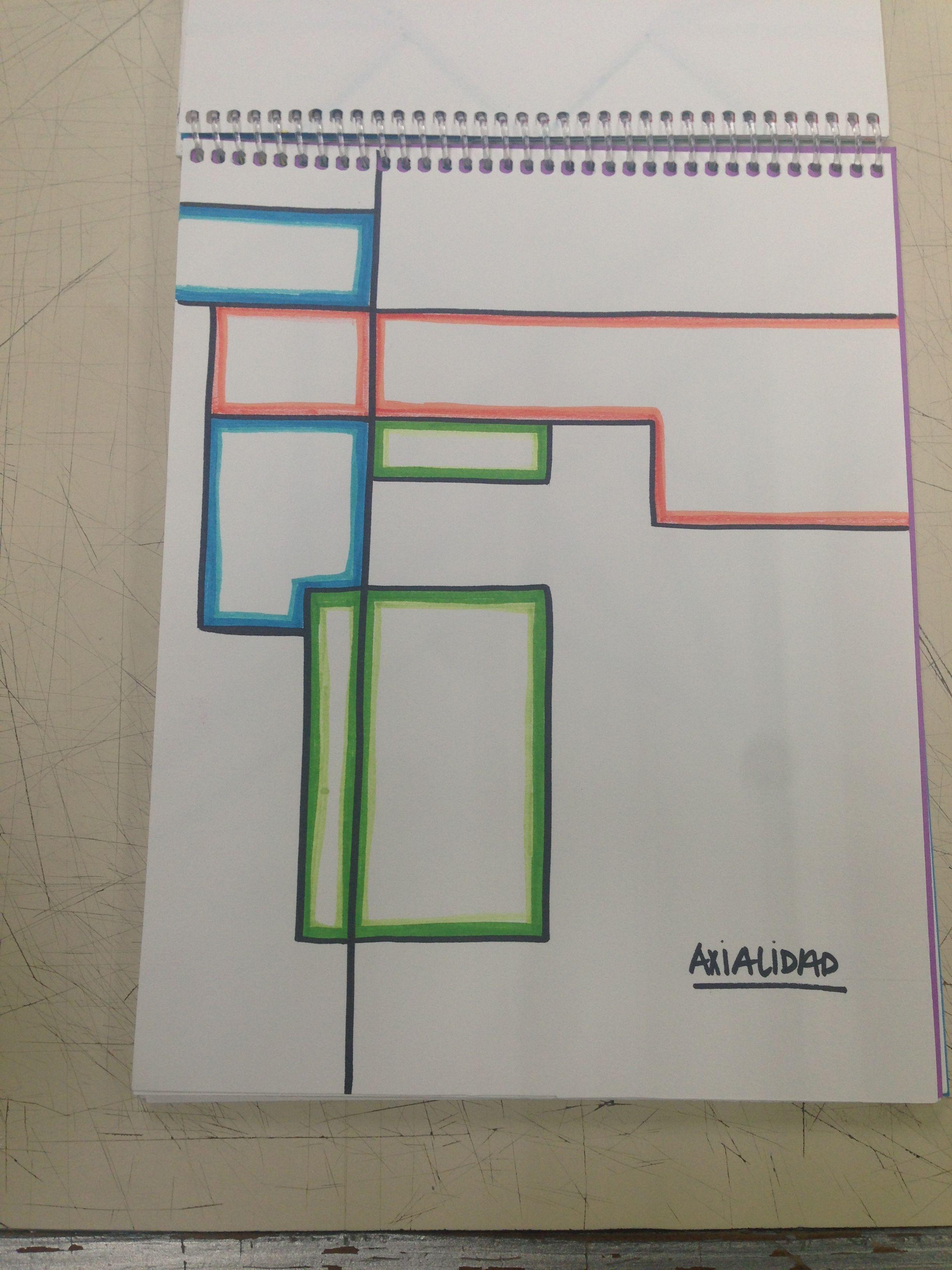 Elementos Del Diseno Axialidad Arquitectura Abstracta Disenos De Unas Diseno Arquitectura
