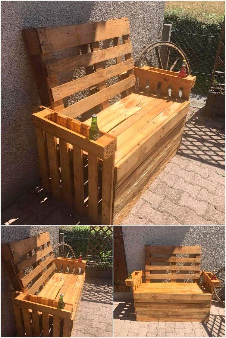 Inspired DIY Ideas for Wood Pallet Reusing