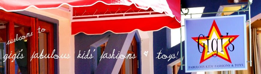 Gigi's Fabulous Kids Fashions & Toys is a laidback and fun boutique located in Rosemary Beach.