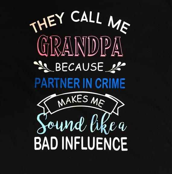 Papa shirt, Grandpa shirt, dad shirt, grandpa gift, gift for dad, birthday gift, partner in crime shirt, grandfather tee, funny dad t, uncle #papashirts