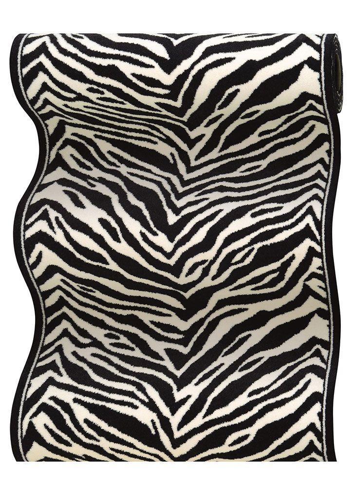Best Couristan Cape Town Cb79 0005A Zebra 2 2 26 Wide Hall 400 x 300