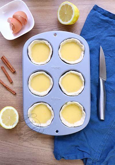 Pastéis de nata (recette portugaise)