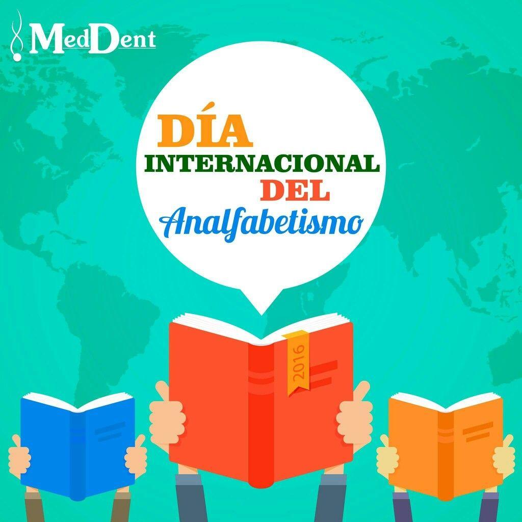 Centremos la atención sobre los niños y adultos que no tienen acceso a programas de educación. #Alfabetizacion #MedDentBoutique