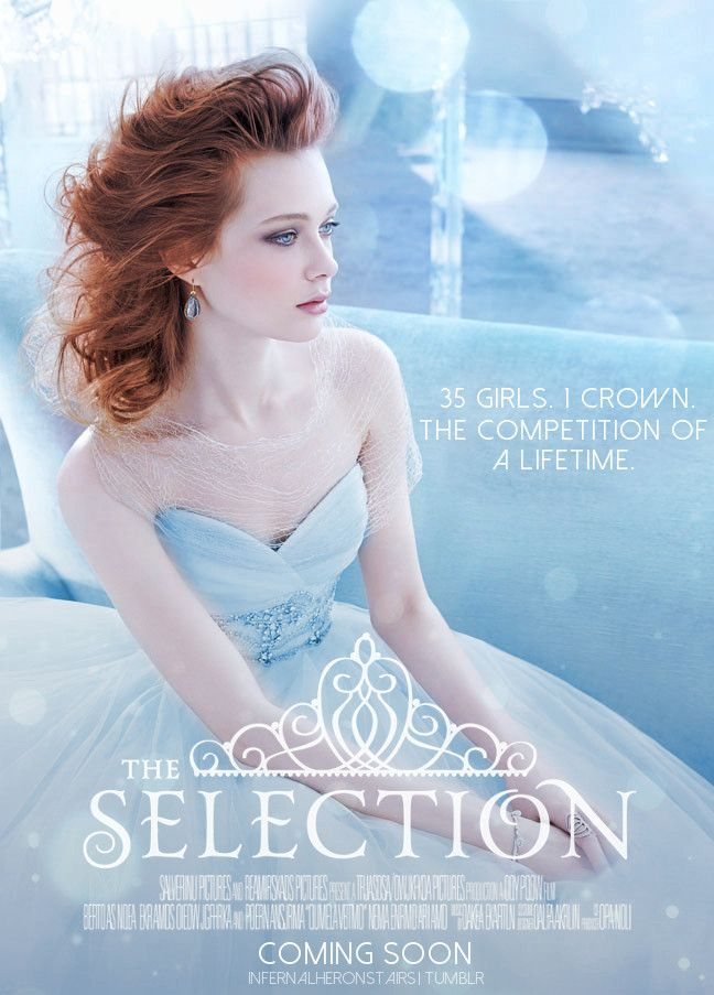 Fanmade Movie Poster For The Selection By Kiera Cass