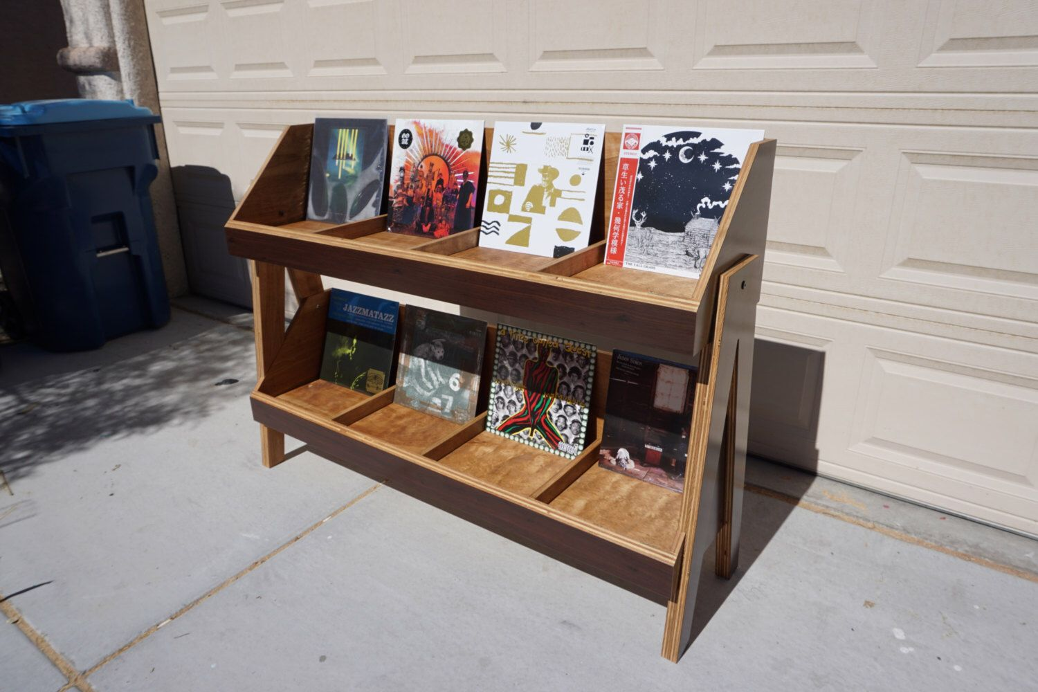 Vinyl Record Storage Stand And Display Holds Over 500 Etsy Record Storage Vinyl Record Storage Lp Storage