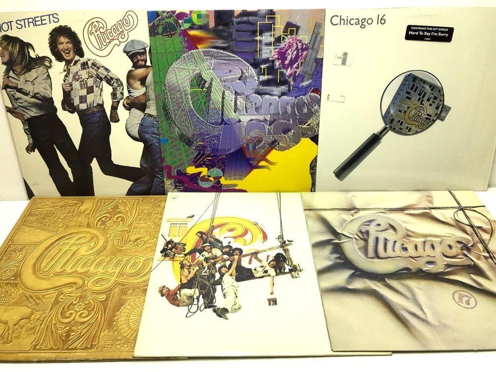 Chicago Lp Vinyl Record Album Lot 17 Greatest Hits Vii 16 19 Hot Vinyl Records Vinyl Record Album Lp Vinyl