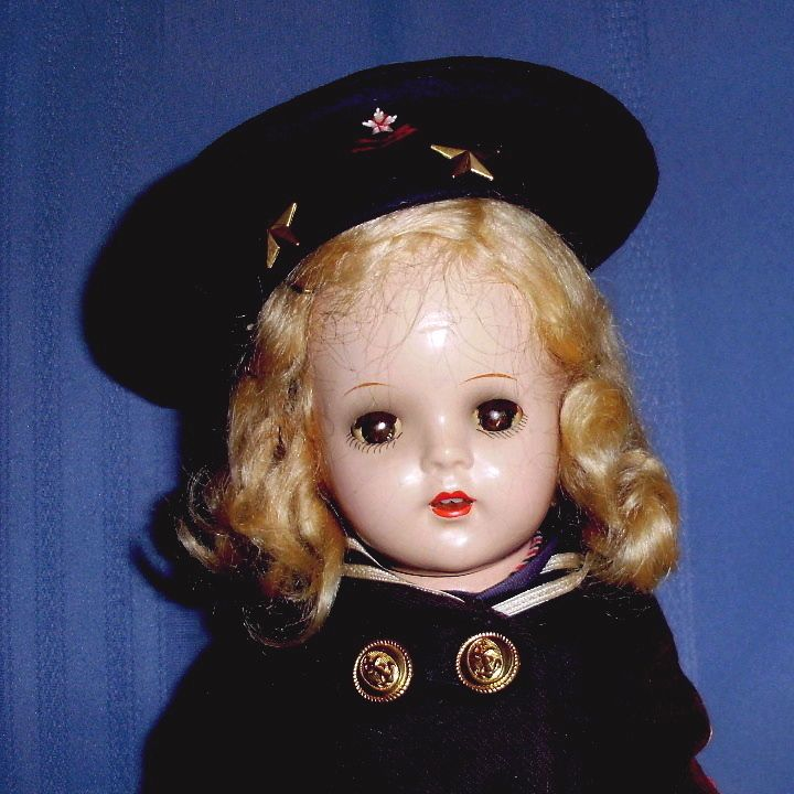 """13"""" Composition R&B Nancy Doll in Original Sailor outfit"""
