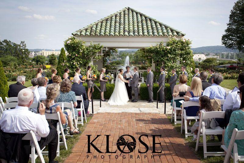 Gazebo Wedding Hershey Gardens Country Club Pa