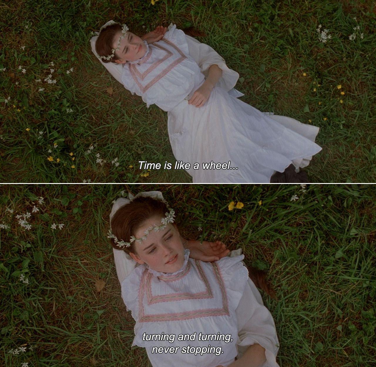 Tuck Everlasting (2002) Winnie Time is like a wheel