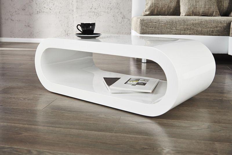 Inside Design Salontafel.Salontafel Model Bowl Hoogglans Wit Salontafel Retro