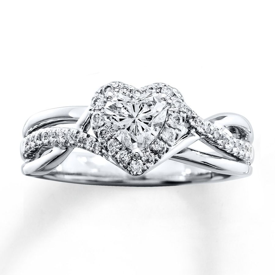 Heart Shaped Diamond Engagement Rings Kay