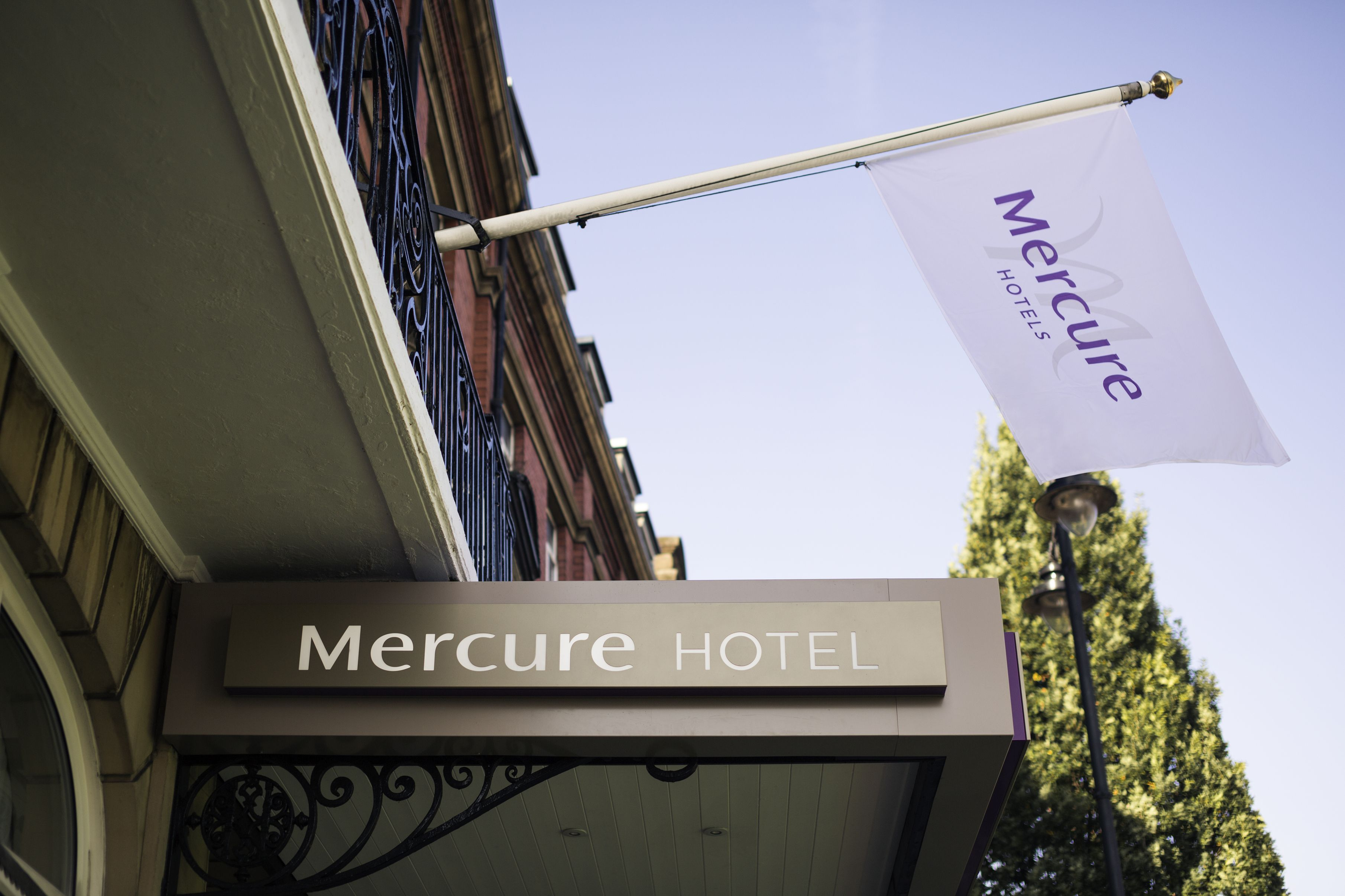 Mercure Accor Hotels Matthews Mee Ltd Exterior Flag Hotel Design Architecture
