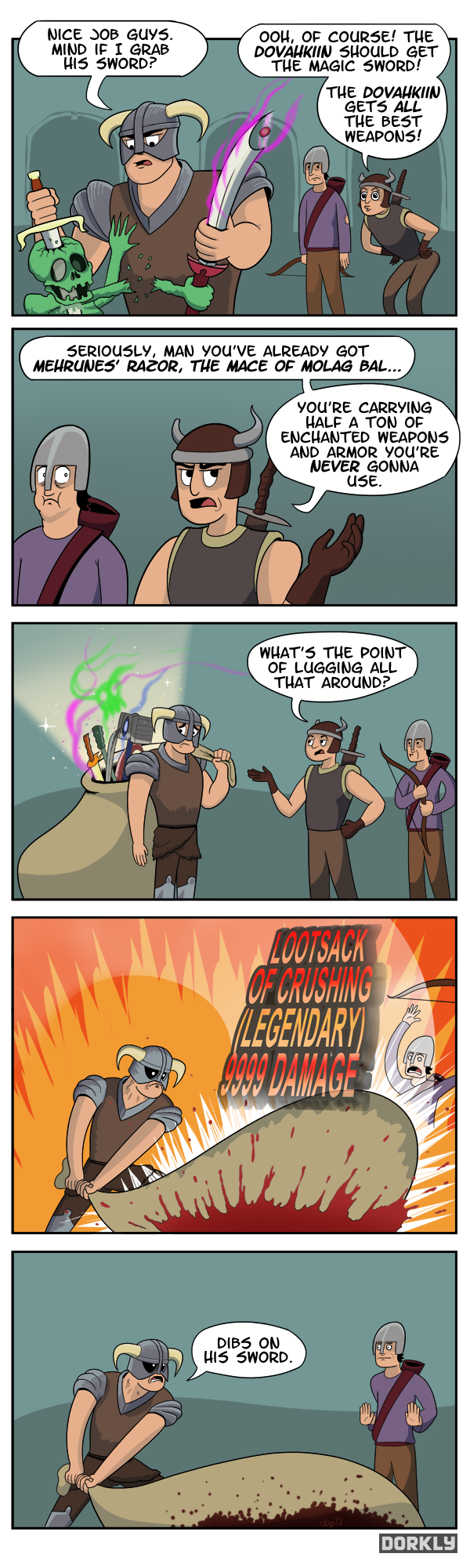 Skyrim Hoarders. Everything's useful...don't you know??