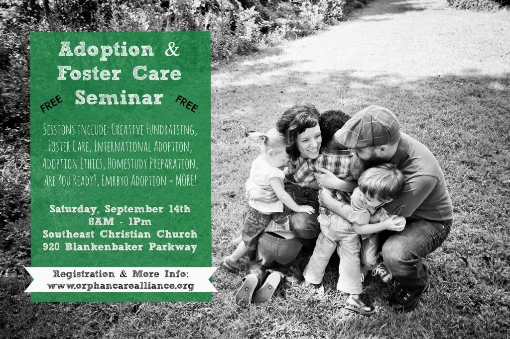 FREE Adoption & Foster Care Seminar Foster care, The