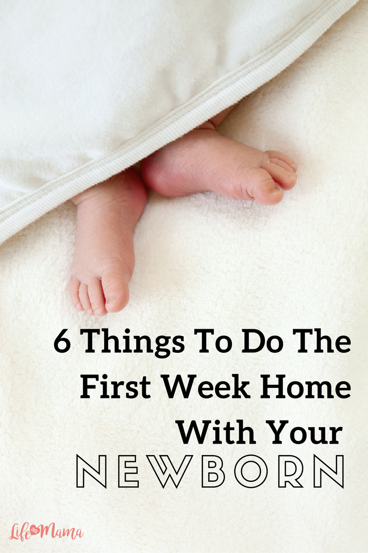 6 Things To Do The First Week Home With Your Newborn   Babies ...