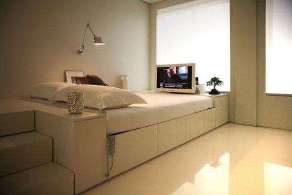 Apartment, Minimalist Studio Apartment Interior Design Ideas: Tips ...