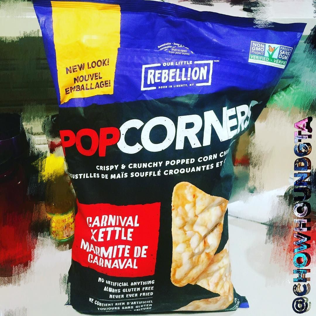Costco Montreal Downtown Popcorn And Chips Pressed Together Into A Snack Only Available