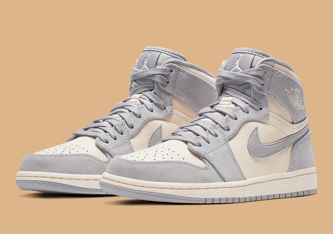 Air Jordan 1 Pale Ivory Women S Ah7389 101 Sneakernews Com Jordan Shoes Girls Shoes Nike Air Shoes