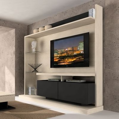 Estante Home Theater Novitá Ravel/Preto - Made Marcs R$962.83