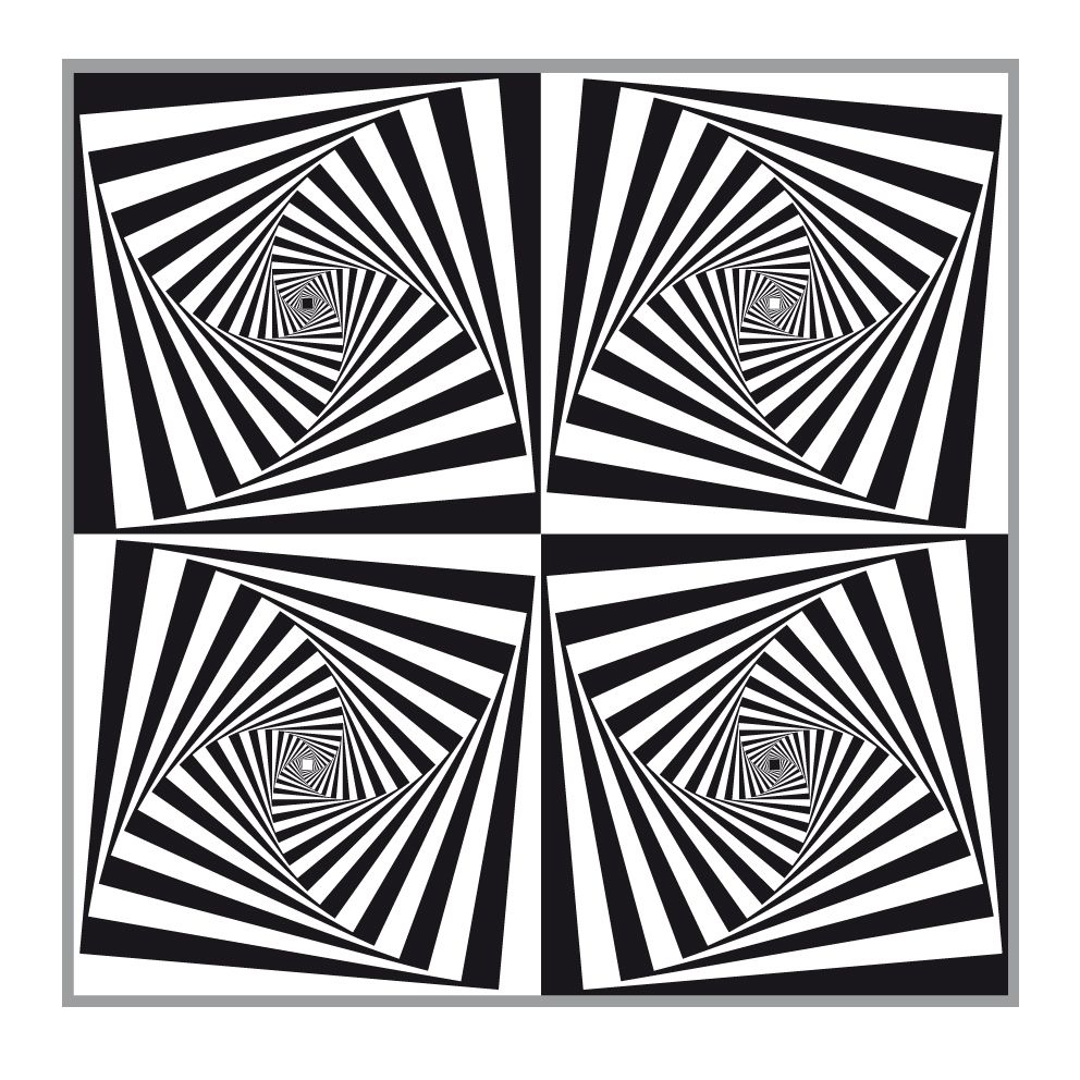Op Art Designs : Op art rectangles illusions and optical