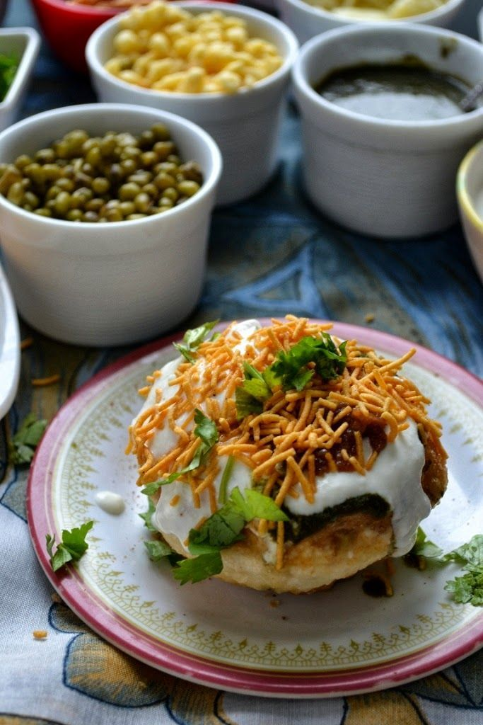A lesser known name on the Indian chaat list, RajKachori