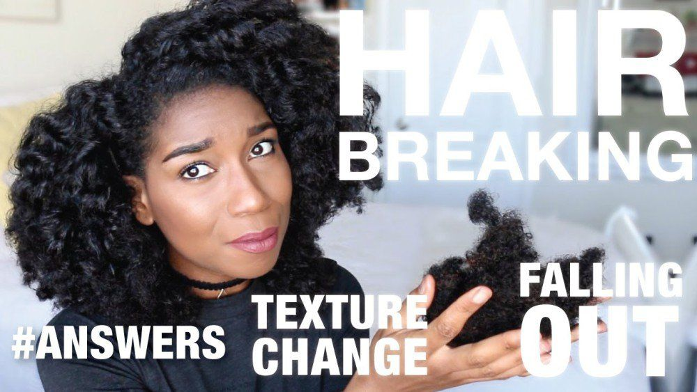 Why Your Hair Texture Is Changing Falling Out My Detailed Story Video Natural Hair Styles Natural Hair Fall Textured Hair