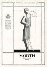 Worth 1927 Pierre Simon, Dinner Frock, Alice Bernard (back)