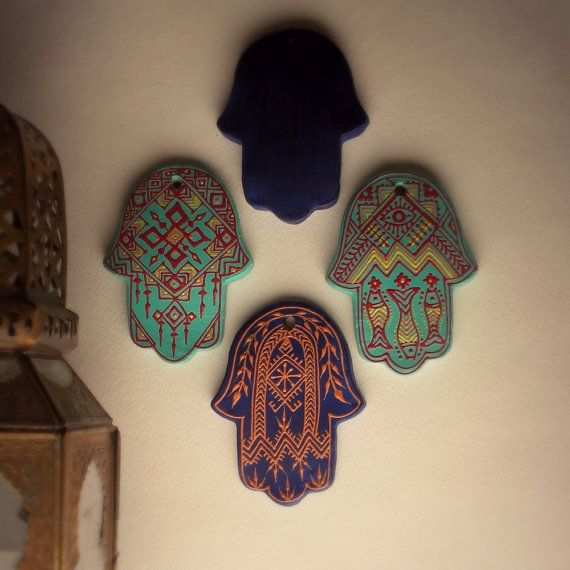 Hamsa Wall Decor By OurFolkLife On Etsy