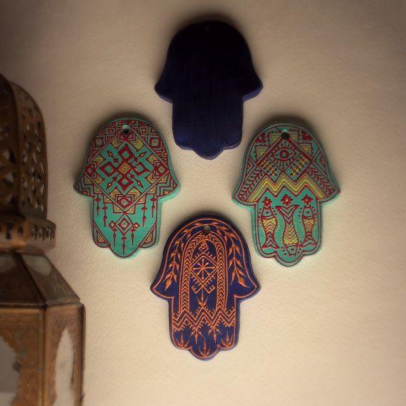 Hamsa Wall Decor hamsa wall decorourfolklife on etsy   things i want