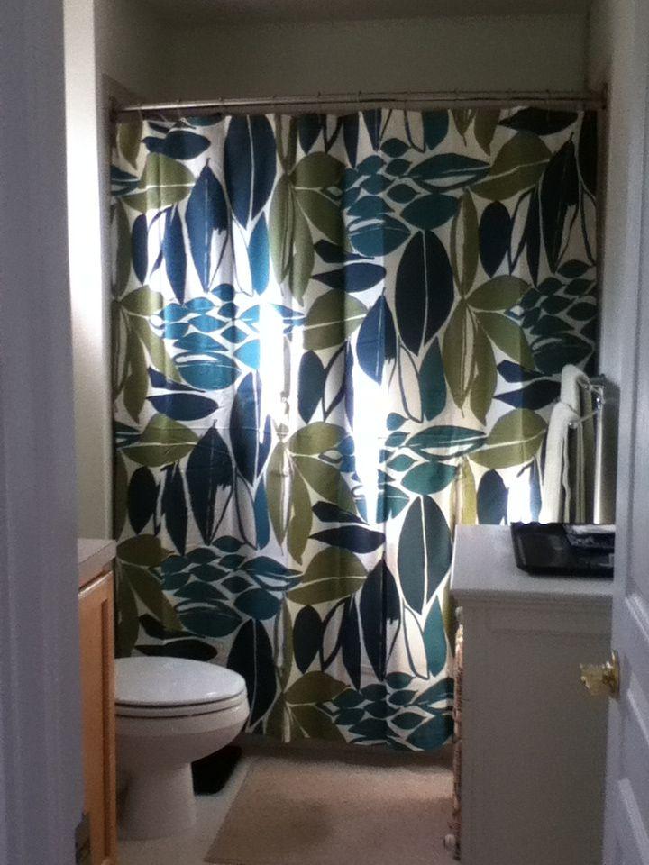 West Elm Rainforest Shower Curtain With Images Rainforest Shower