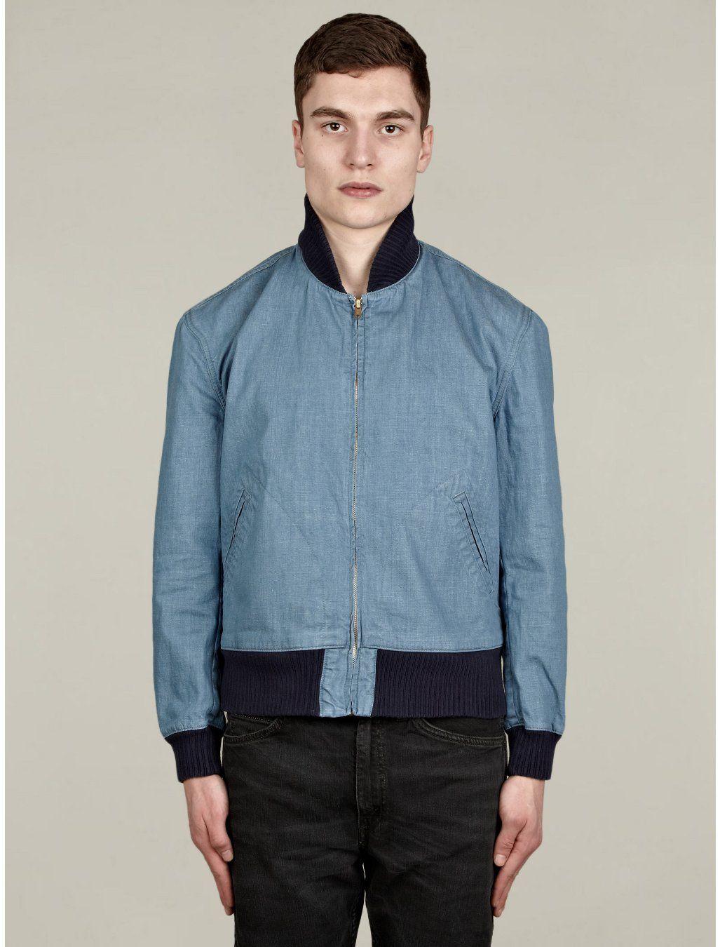 Levis Vintage Clothing Mens 1960s Sky Blue Denim Bomber Jacket Vintage Clothing Men Levis Vintage Clothing Designer Outerwear [ 1350 x 1027 Pixel ]