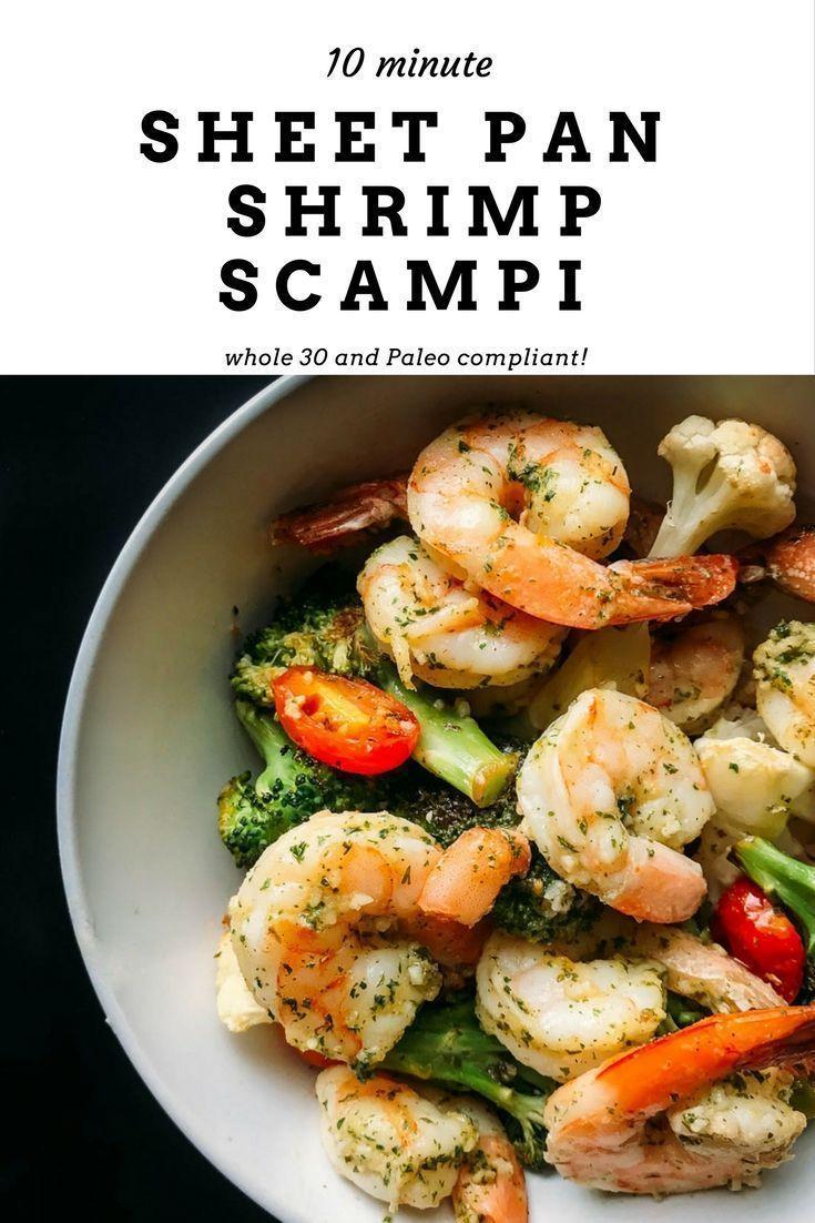 Photo of Easy Sheet Pan Shrimp Scampi – Täglicher Augenschmaus