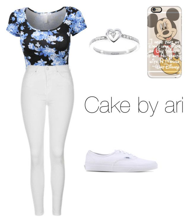 """""""Cake by ari"""" by ari818 ❤ liked on Polyvore featuring Topshop, Vans, Modern Bride and Casetify"""