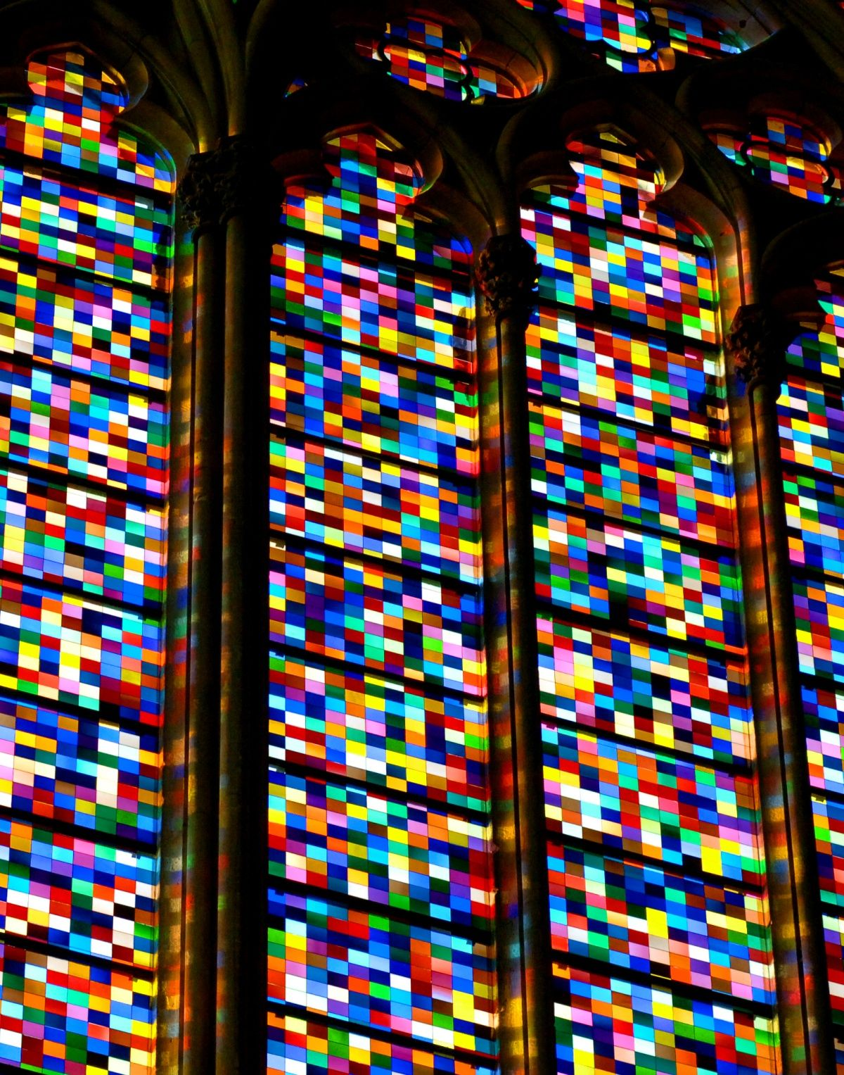 A New European German Traditional Aesthetic Aapbbmkvd Gerhard Richter Window Cologne Cathedral 2007 Gerhard Richter Glass Art Fused Glass Art