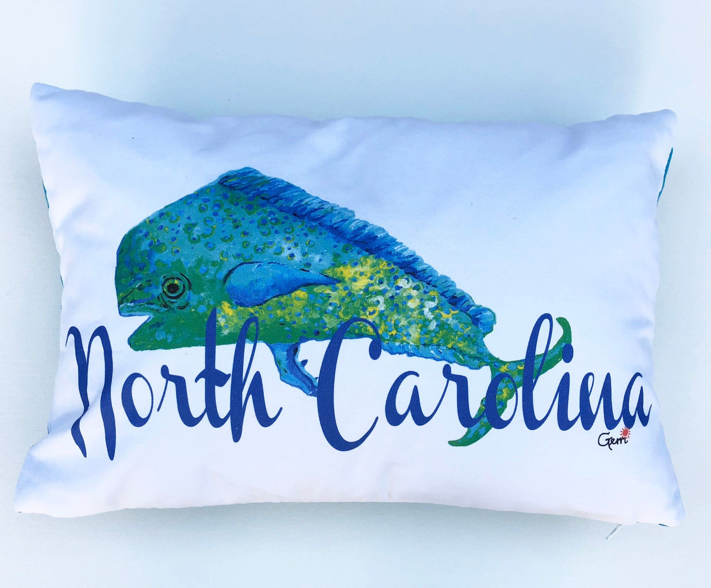 Coastal throw pillow nautical pillow for beach house