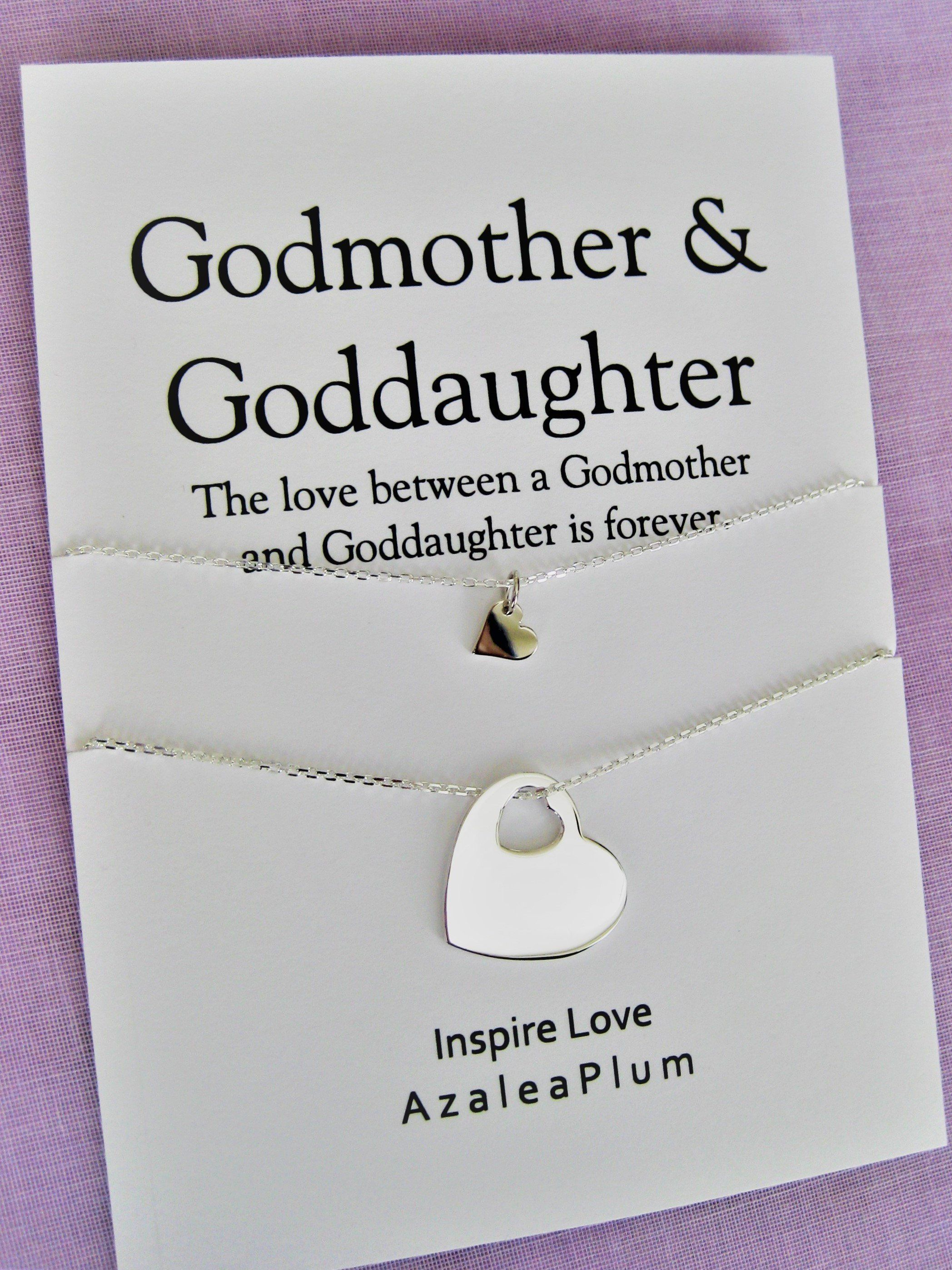 Godmother Necklace Gift Godmother Proposal Fairy Godmother