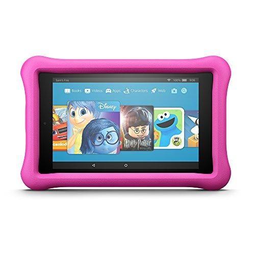 """Fire HD 8 Kids Edition Tablet, 8"""" HD Display, 32 GB, Pink"""