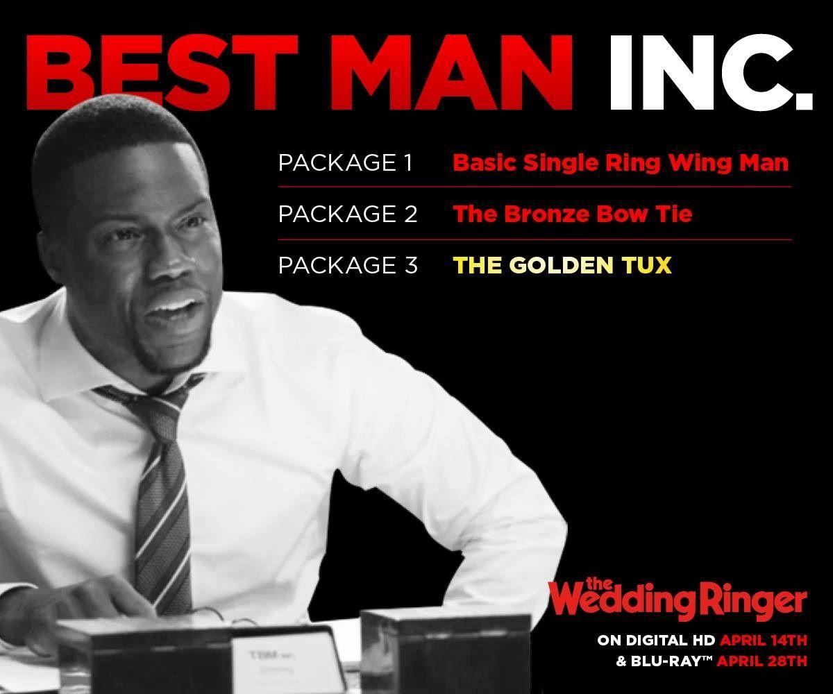 The Wedding Ringer Starring Kevin Hart On Digital Hd Apr 14 Blu Ray Apr 28 Via Facebook Com The Wedding Ringer Wedding Ringer Kevin Hart