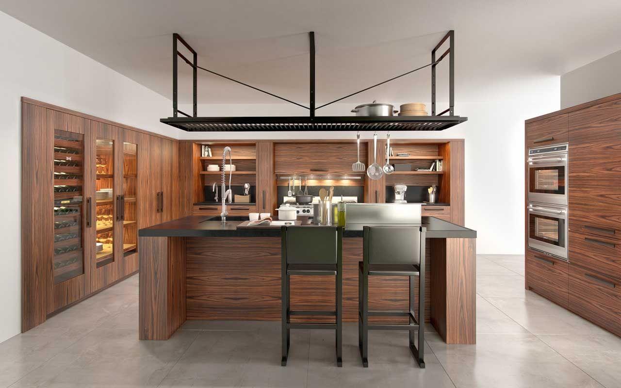 Recessed Panel Rosewood Cherry Cabinets Blue Pearl Gt Granite Kitchen Design Small Kitchen Design Decor Kitchen Design