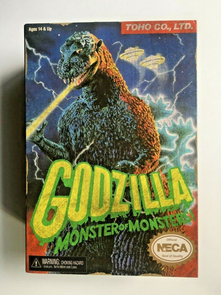 Monsters Game Neca Appearance Video Godzilla Figure Of Monster bvIfyY76g