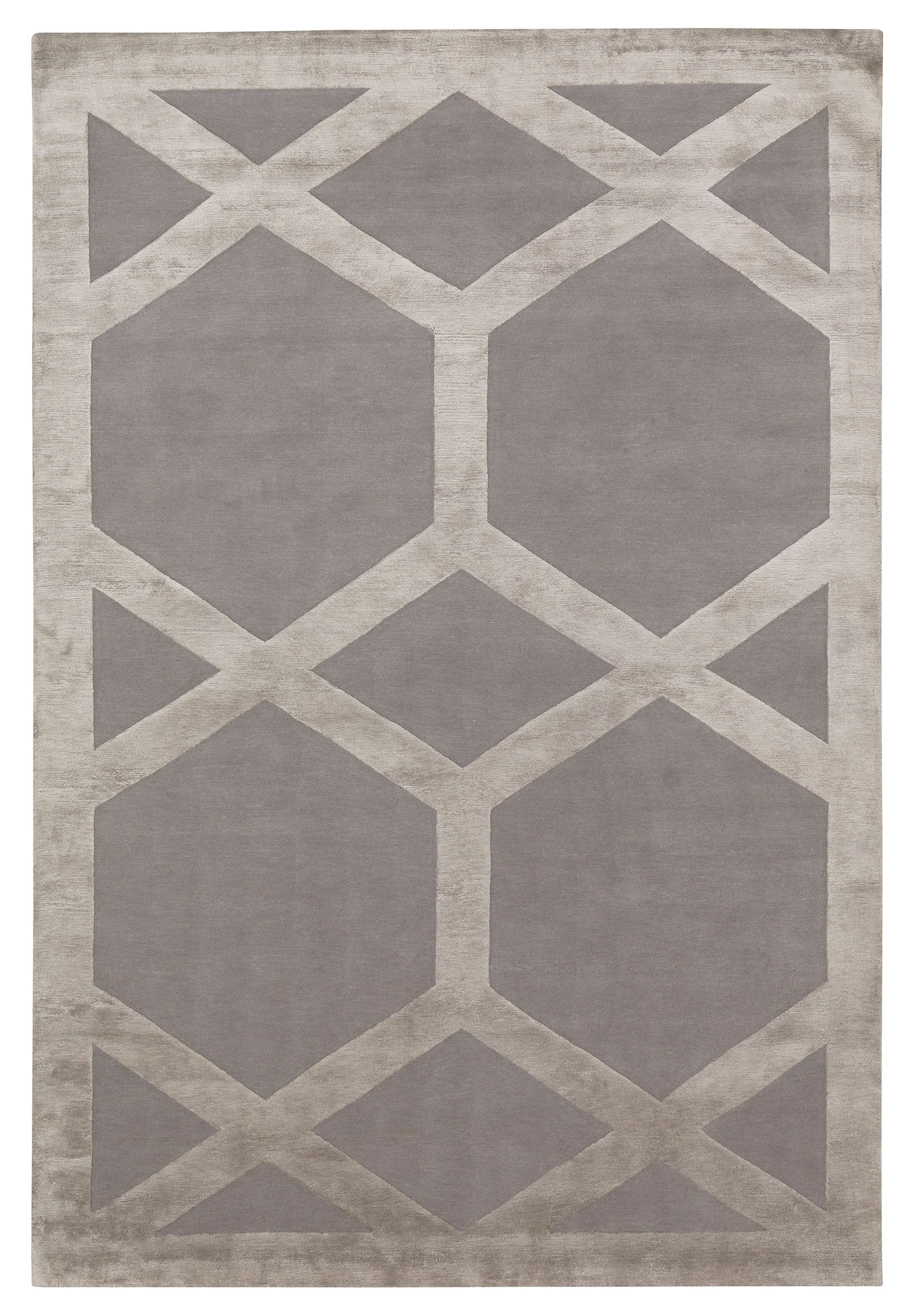 Cora By Suzanne Sharp Wool And Silk Contemporary Hand Knotted Designer Rugs