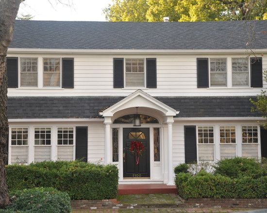 Colonial Remodeling Model Remodelling exterior garrison colonial design, pictures, remodel, decor and