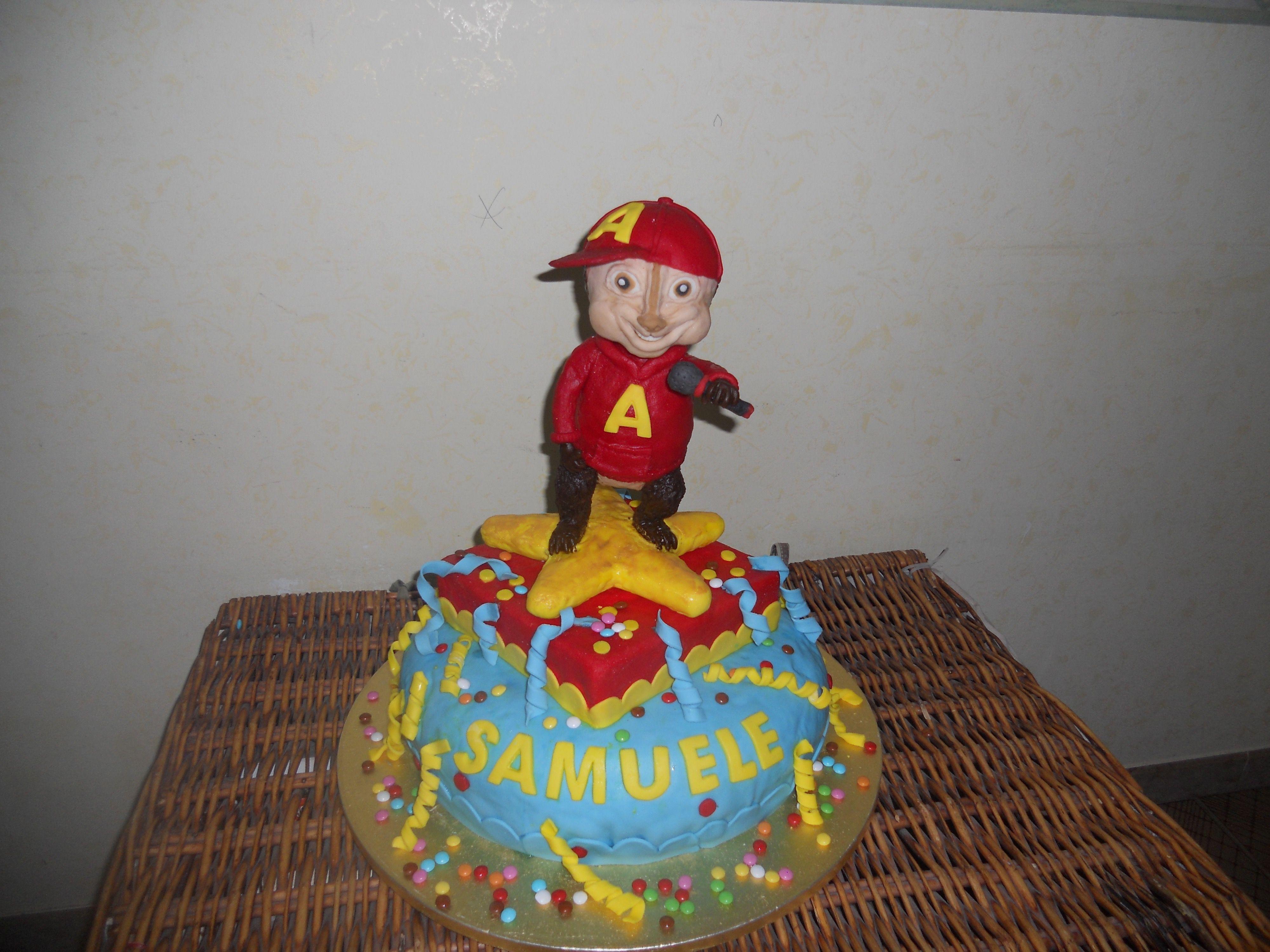 torta alvin superstar cake design nel mondo animato pinterest