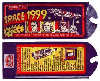 Image result for Space 1999 ice cream