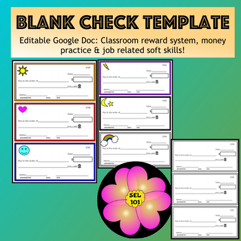 Check Template Editable Google Doc Classroom Reward System Or Money Practice Classroom Reward System Classroom Rewards Social Skills Lessons